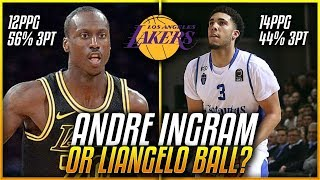 Download Will LiAngelo Ball STEAL Andre Ingrams Spot On The LAKERS Next Season? Video