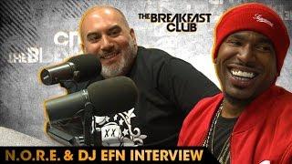 Download N.O.R.E. & DJ EFN Talk Drink Champs, Squashing Beef, Preserving Hip Hop Culture & More Video