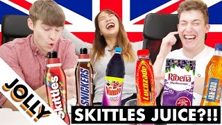 Download SKITTLES JUICE!? (WEIRDEST British drinks!) Video