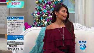 Download HSN | Designer Gallery: Deb Guyot Herkimer Jewelry 10.21.2017 - 08 PM Video