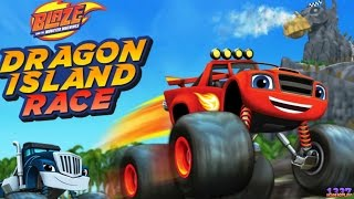 Download Blaze and the Monster Machines Dragon Island Race | Cartoon Game Episode for Kids Video