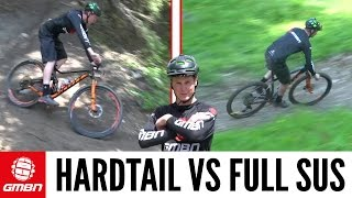 Download Hardtail Vs. Full Suspension Mountain Bike - What is Faster? Video