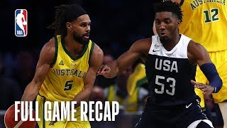 Download USAB Men's National Team vs. Australian Boomers Team Exhibition | August 24, 2019 Video