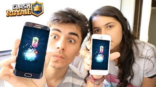 Download ABRIMOS DOIS BAÚS LENDARIOS NO CLASH ROYALE Video