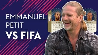 Download THIERRY HENRY OR R9 RONALDO, WHO WAS BETTER?! | EMMANUEL PETIT VS FIFA 🔥🔥🔥 Video