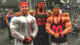 Download HEAVY INTENSE Shoulder Training with Doug Miller, Rich Homie Sean and Marc Lobliner Video