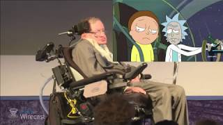Download Stephen Hawking Reacts to Rick and Morty Video