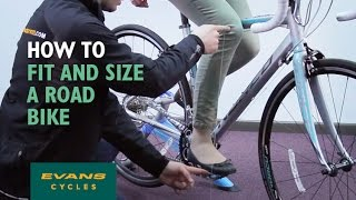 Download How to fit and size a road bike Video