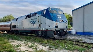 Download Amtrak Running On Bad Track! Video