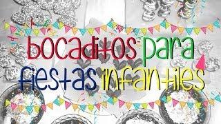 Download 5 Ideas de ″Bocaditos pára fiestas infantiles″ by Gaby EVP Video
