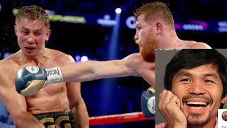Download Manny Pacquiao Reacts To Canelo Alvarez vs Gennady Golovkin DRAW #AllUrbanCentral Video