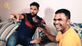 Download Yuvraj Singh Talks About Girls, Gas and Ganguly with The Quint! Video