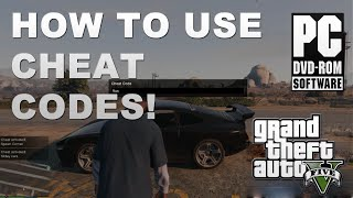 Download How To Use GTA 5 PC Cheats Codes - Campaign Story Mode Video