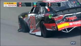 Download NASCAR Xfinity Series 2017 Richmond Multi Car Crash Video