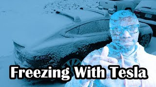 Download Surviving winter with a Tesla Video