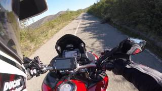 Download Ducati Multistrada Pikes Peak - POV 2.7k Monte Fasce Video