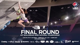 Download Final Round - 2017 Bouldering Open National Championship Video