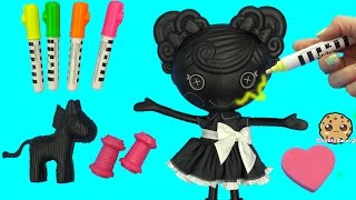 Download Lalaloopsy Trace E Doodles Color Me Draw with Markers & Stamp Doll Cookieswirlc Video Video