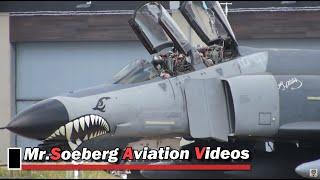 Download NICE McDonell F-4 Phantoms, Turkish Air Force, Departure Gilze-Rijen Video