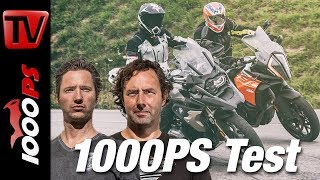 Download 1000PS Test - BMW R 1200 GS gegen KTM 1290 Super Adventure S Video