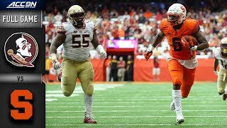 Download Florida State vs Syracuse Full Game | 2018 College Football Video