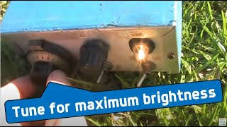 Download Tune for maximum brightness: 160 - 10m series parallel antenna coupler Video