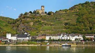 Download Rhine River Valley (Koblenz to Rudesheim), Germany in 4K Ultra HD Video