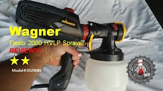 Download Wagner Flexio 2000 HVLP Sprayer Review, unboxing and tutorial (0529086) Video