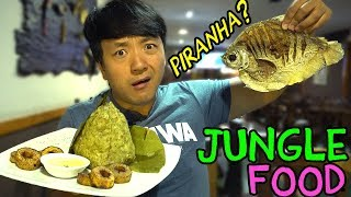 Download Eating JUNGLE FOOD: Traditional AMAZONIAN Dishes in Lima Peru Video