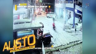 Download Alisto: Rider ng motorsiklo, tumilapon matapos sumemplang sa ginagawang kalsada! Video