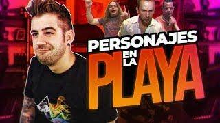 Download LOS PERSONAJES DE LA PLAYA Video