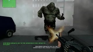 Counter Strike Source Zombie Riot online gameplay Dust 2