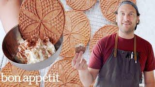 Download Brad Makes Sourdough Pizzelle Cookies | It's Alive | Bon Appétit Video