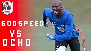 Download Flag Football Highlights: Ochocinco looks to advance his team to $1 Million final! | NFL Video