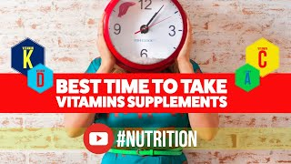 Download Best Time To Take Vitamins and Supplements Video