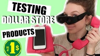 Download TESTING DOLLAR STORE PRODUCTS! Video