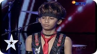 Download Cool Drummer Kid from Rachzonja Adhy Kirana Putra - AUDITION 7 - Indonesia's Got Talent Video