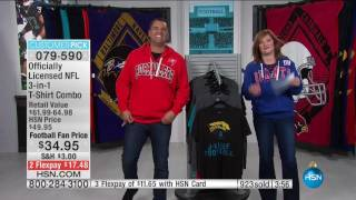 Download HSN | Football Fan Shop Gifts 12.07.2016 - 01 PM Video