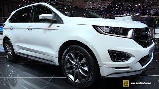 Download 2017 Ford Edge ST Line - Exterior and Interior Walkaround - 2017 Geneva Motor Show Video