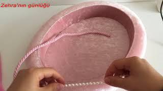 Download Kadife kumaş kaplamalı oval havluluk yapımı - box coating Video