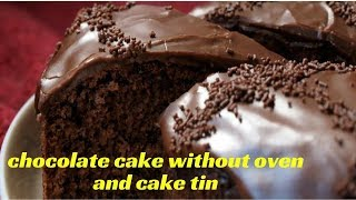 Download CHOCOLATE CAKE WITHOUT OVEN-no oven no cake tin- pressure cooker chocolate Cake Recipelmrsmalabar Video