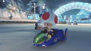 Download Mario Kart 8 Deluxe 150cc Leaf Cup - Toad Gameplay (3 Star Rank) Video