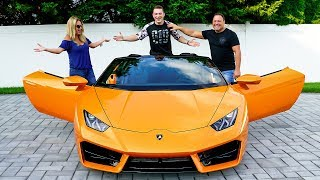 Download SURPRISING MY PARENTS WITH LAMBORGHINI *BRAND NEW* Video
