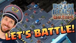 Download BOOM BEACH WARSHIPS LIVE - LET'S BATTLE **RANK 17** Video