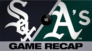 Download Grossman, Barreto power A's 13-2 rout of Sox   White Sox-A's Game Highlights 7/13/19 Video