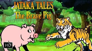 Download Jataka Tales - The Brave Pig - Animal Stories Video