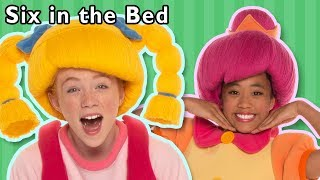 Download Six in the Bed and More | Bedtime Rhymes | Baby Songs from Mother Goose Club! Video