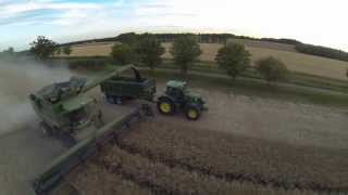 Download Harvest 2015 - John Deere S690i w/ 40' Vario - Gawdy Hall Estates Ltd. Video