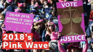 Download The 'Pink Wave': Record Number Of Women Battling At The Midterms Video