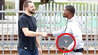 Download Giving Air Jordan's To Strangers Video